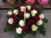 Корзина из роз с доставкой в Янауле