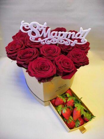 Шляпные коробки с цветами в Янауле