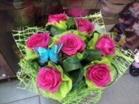 Букет из 5 роз в янауле