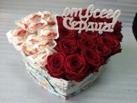 Цветы в шляпной коробке Янаул