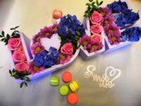 """Коробочка цветов """"Love"""" в Янауле"""