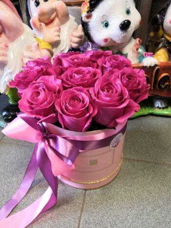 Шляпная коробка из роз Пинд Флойд