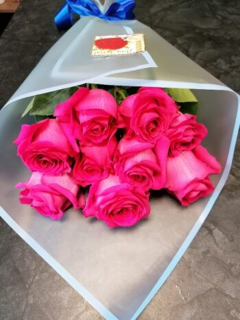 Букет из 9 роз Янаул