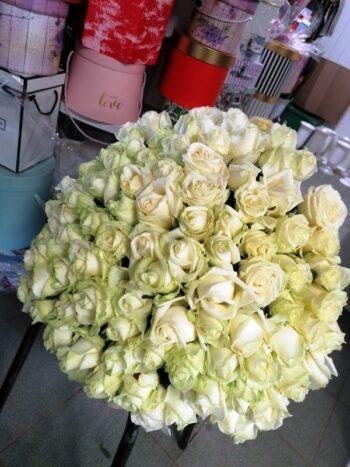101 белая роза Янаул