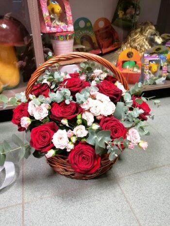 Корзина из роз Янаул