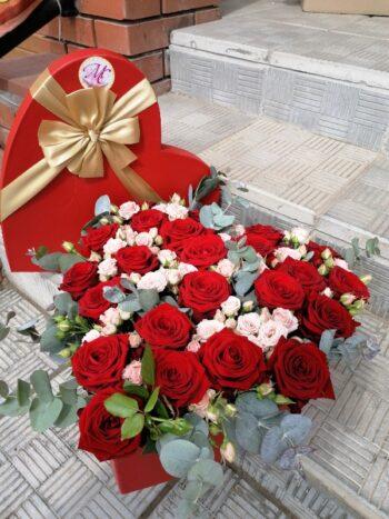"Шляпная коробка ""Любящее сердце"""