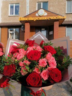 "Букет цветов ""Дуэт"""