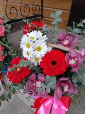 """Цветы в ящике """"Доброе утро"""""""